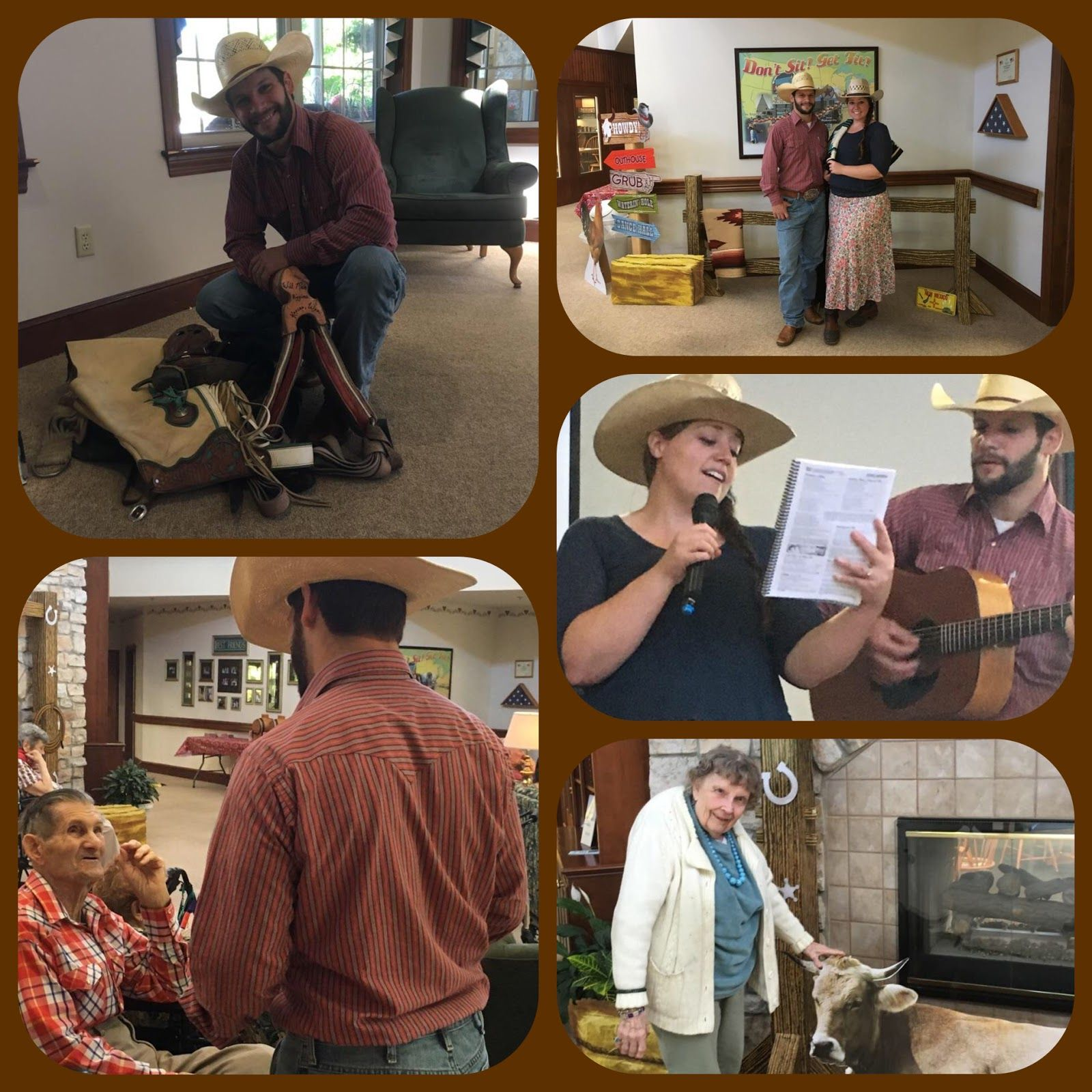 Residents and guests at Juniper Village at Mount Joy galloped on down for a rootin', tootin' good time on October 5 th .  Harvest Rodeo D...