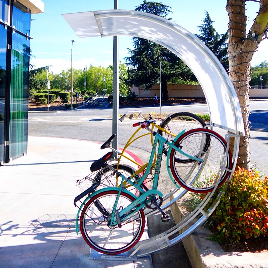 Look jeremy s bicycle rack apartment therapy - Awesome Bike Rack By Bike Arc Bicycle Parking Rack Wikipedia The Free Encyclopedia