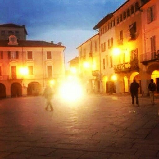 #photography - Romantic evening view from Biella - sweet city in #Piemonte #Italy