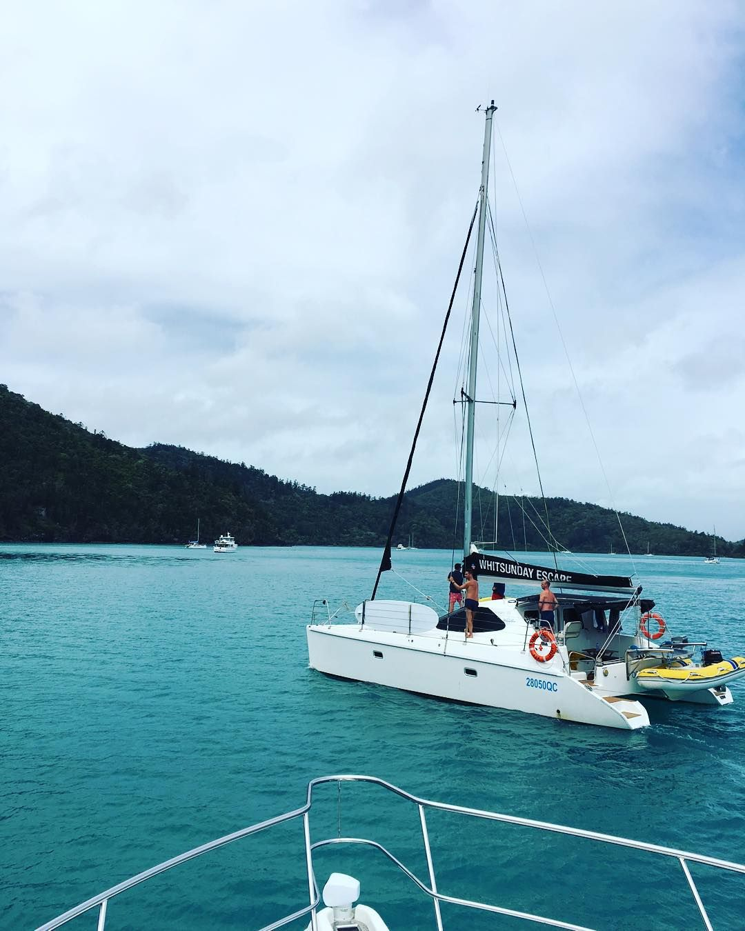 Just enjoying the boating life last Saturday in the Whiteundays. #travel #instatravel #travelgram #australia #wanderlust #hashtag #sun #loveaustralia #worldtravelpics #explore  #qld #queensland #islandlife #hamiltonisland #whitsundays #cruise #bliss