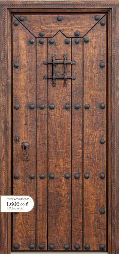 Puertas r sticas alpujarre as artesanos de la puerta for Puertas macizas exterior
