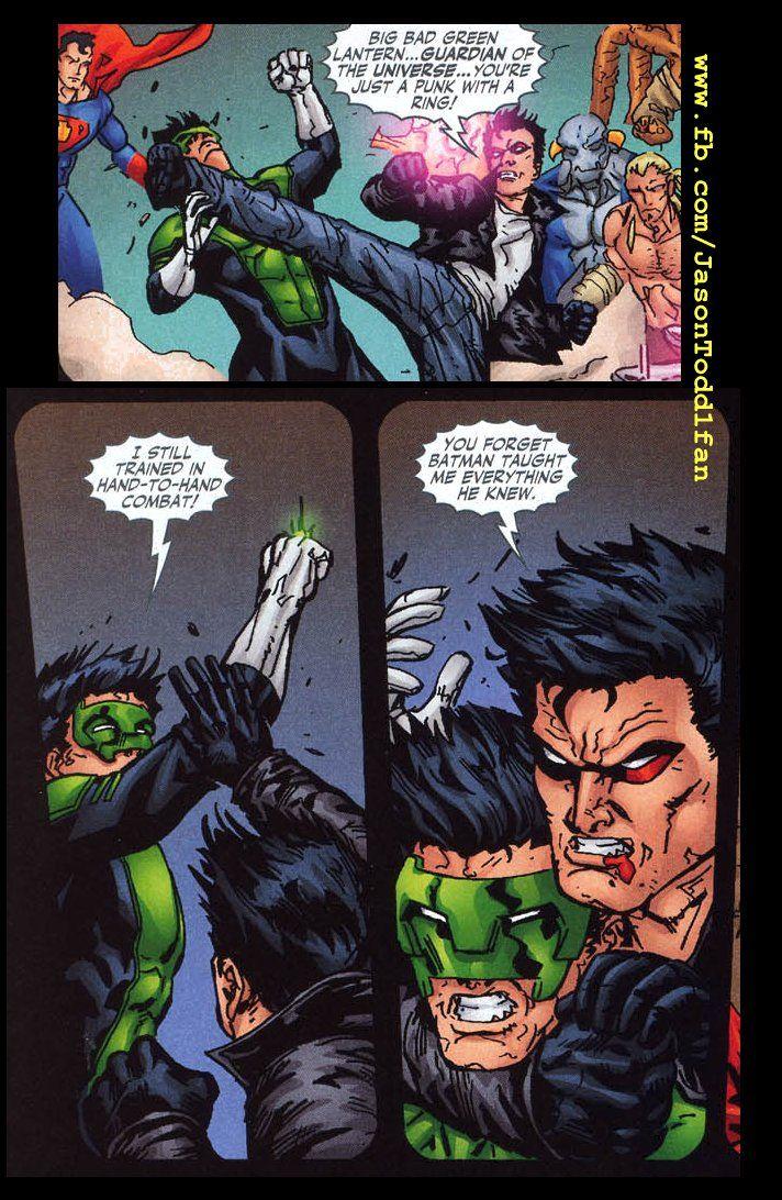 Jason Todd Vs Nightwing