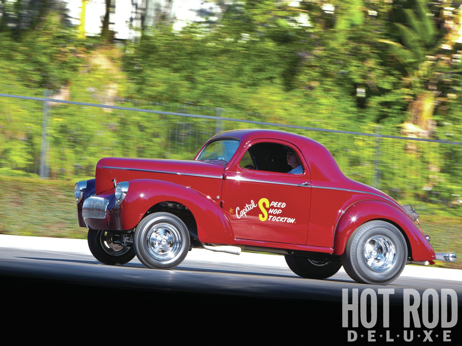 1941 willys coupe restored gasser
