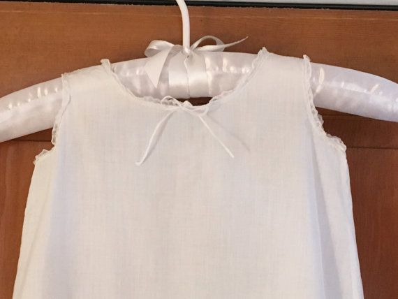 Childs Vintage Nightgown Vintage White Childs by DartmouthHill