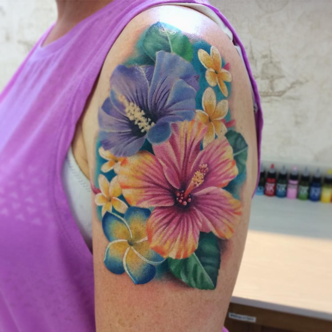 White Ink Plumeria Ink Pinterest Tattoos Flower Tattoos And