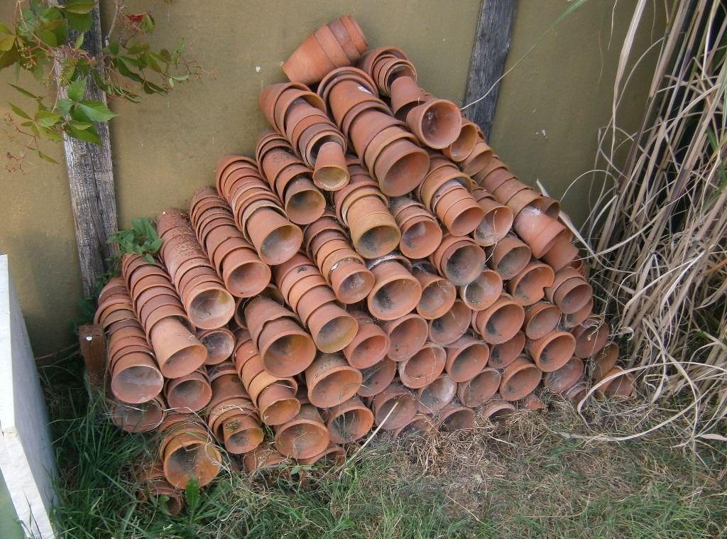 Lot Of Old Terracotta Pots Plant Pots In Norwich Norfolk