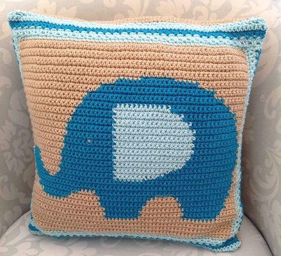Elephant Pillow Pattern Elephant Cushion Pattern Elephant Pattern