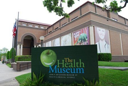 The Health Museum 1515 Hermann Drive Houston Texas 77004 713 521 1515 Hours Of Operation Tue Explore Houston Texas Medical Center Night At The Museum