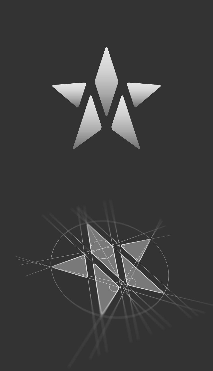 m star logo construction logo design by jan zabransky logo