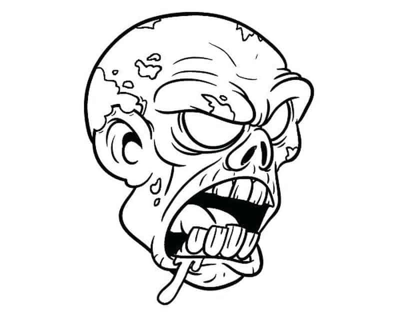 Have A Fun With Zombie Coloring Pages Free Coloring Sheets Zombie Drawings Scary Coloring Pages Coloring Pages