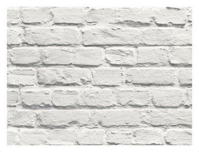 Tapeta Biala Cegla Kamien Mur 3d Na Flizelinie Wallpaper