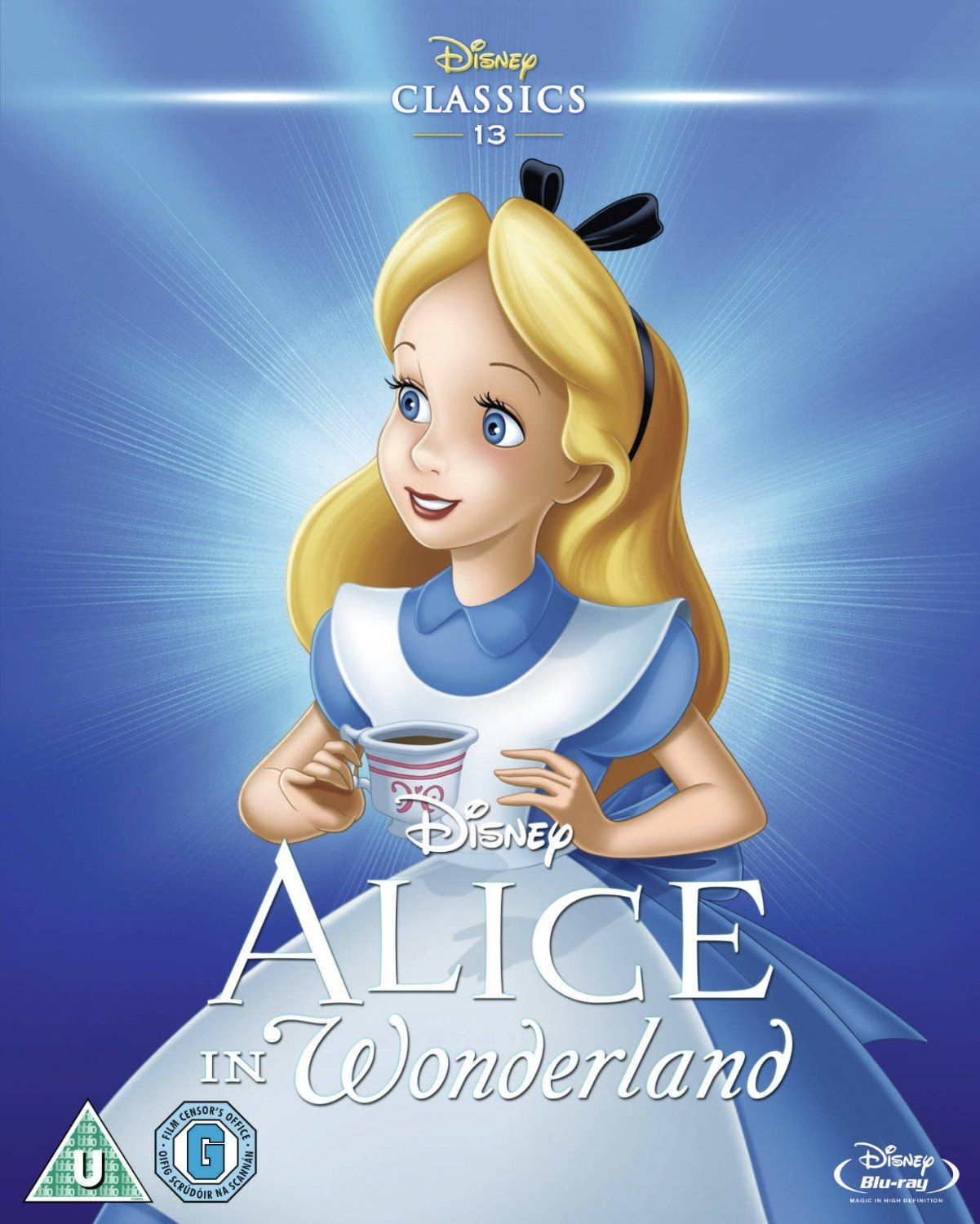Alice in Wonderland 1951 Limited Edition Artwork Sleeve