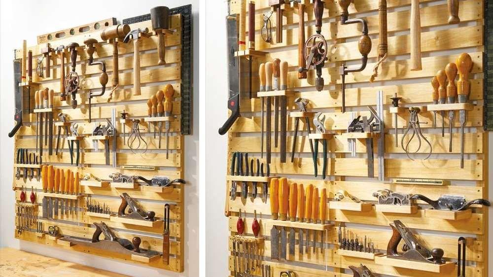 23 Idees A Adopter Pour Ranger Vos Outils De Bricolage Astuce Rangement Outils Bricolage Rangement Outils