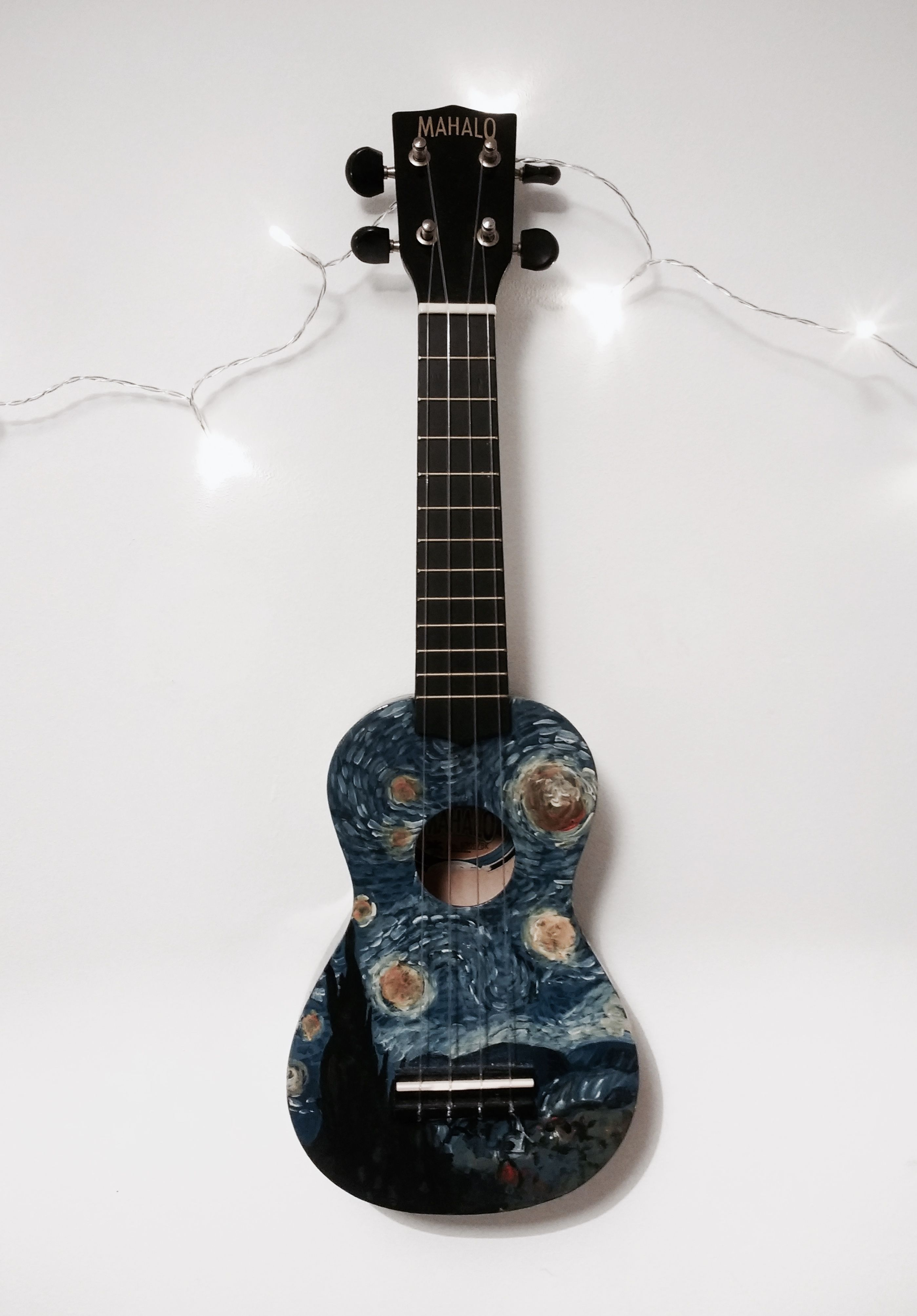 My Hand Painted Starry Night Ukulele Also On My Instagram