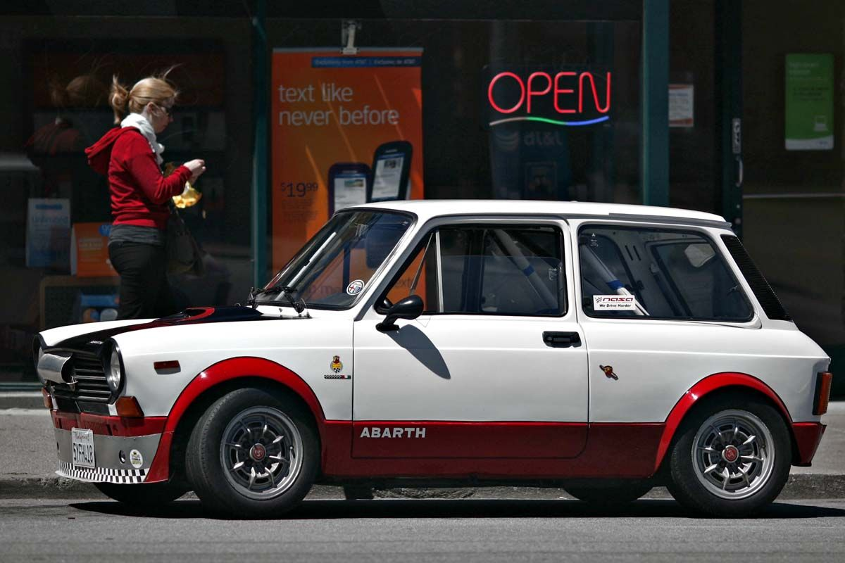 What If The Bianchi Bicycle Company Made Cars The Amazing Autobianchi A112 Abarth San Francisco Citizen Classic Racing Cars Super Cars Bianchi Bicycle
