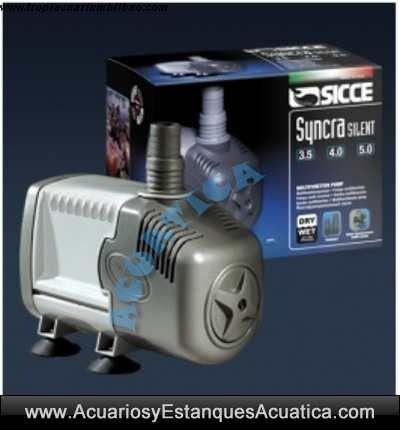 Sicce syncra silent bombas agua acuarios y estanques for Accesorios para estanques