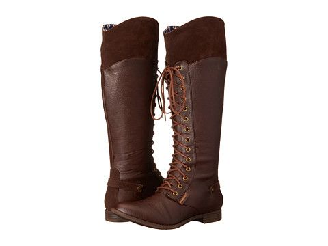 Womens Boots Rocket Dog Elka Brown Hush/Sierras