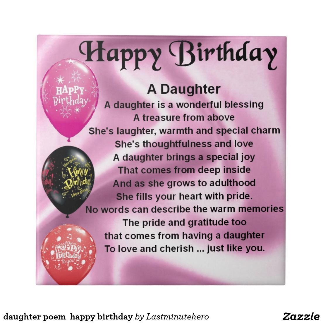 happy birthday daughter for