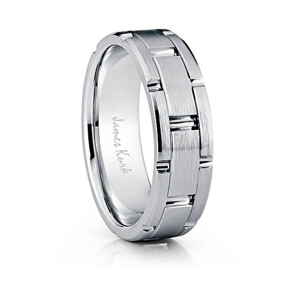Just One Of Many James Kurk Wedding Bands Available At Lordos Diamonds In St Louis