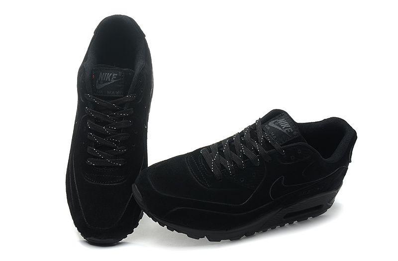 cheaper a0a30 15452 Nike Air Max 90 VT Mens All Black 131214-007  109.00