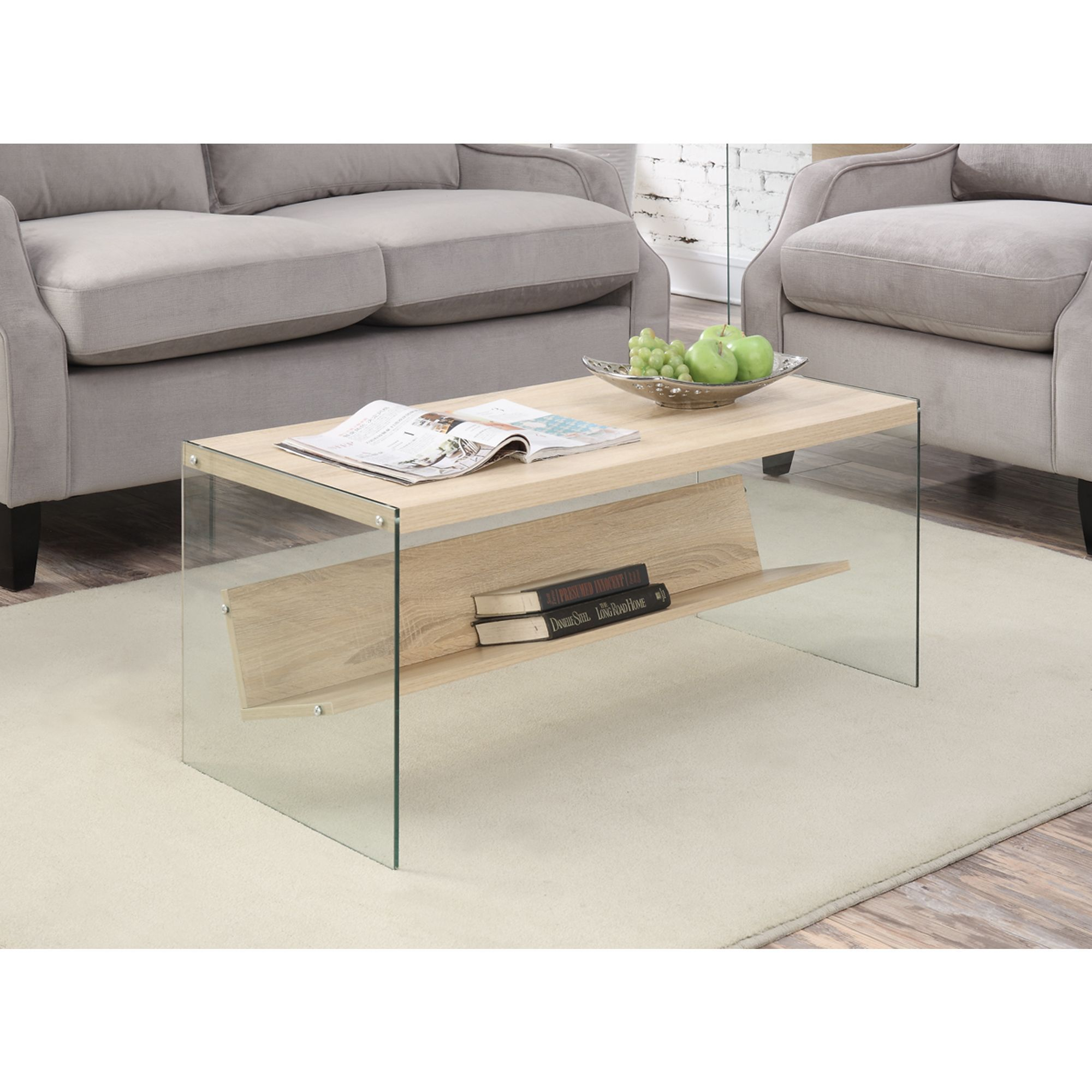 Convenience Concepts Soho Wood Coffee Table