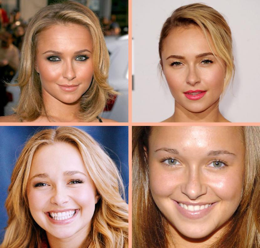 Très Comment reconnaître un visage rond ? | maquillage | Pinterest  OK44