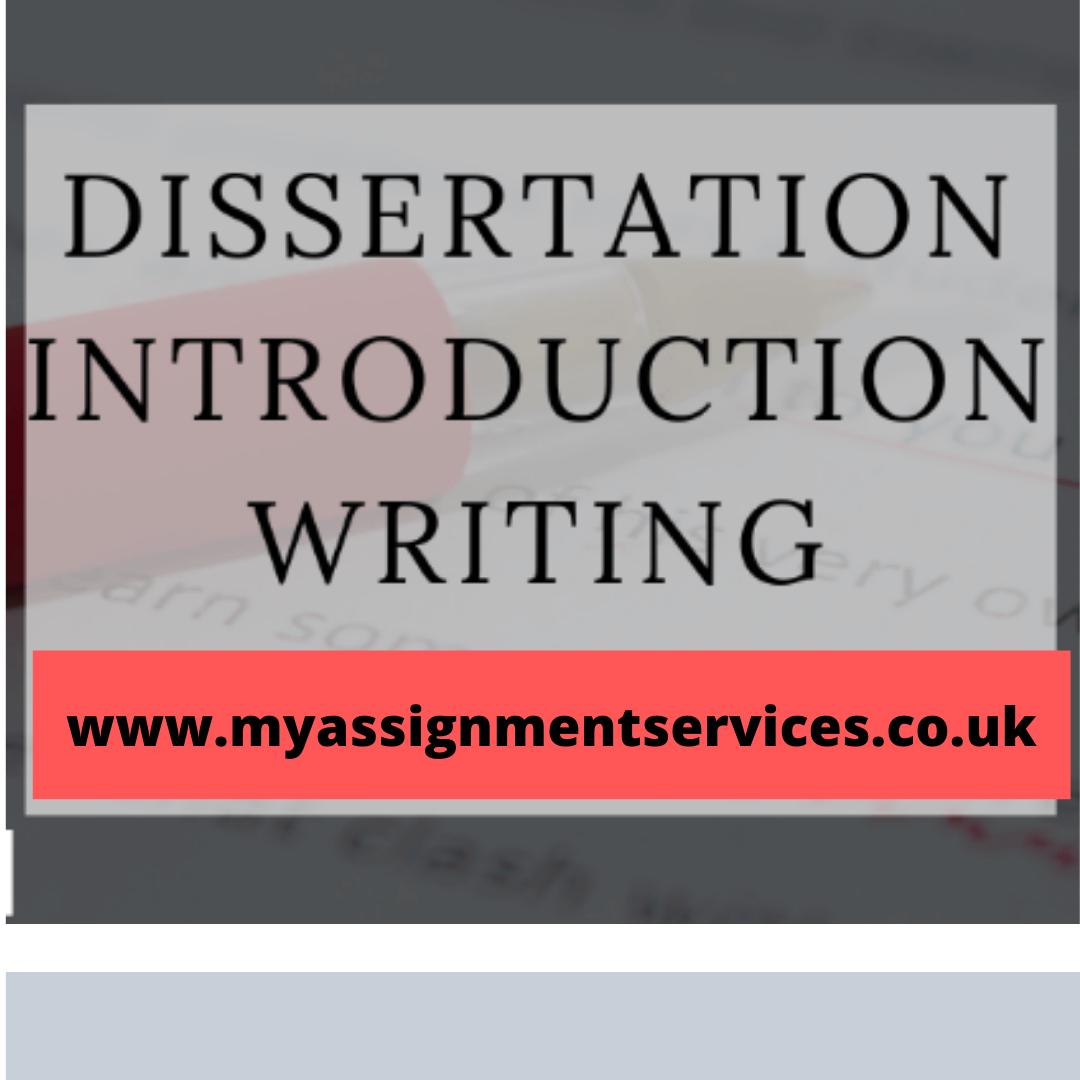 Dissertation Introduction Writing Guide | HandmadeWriting