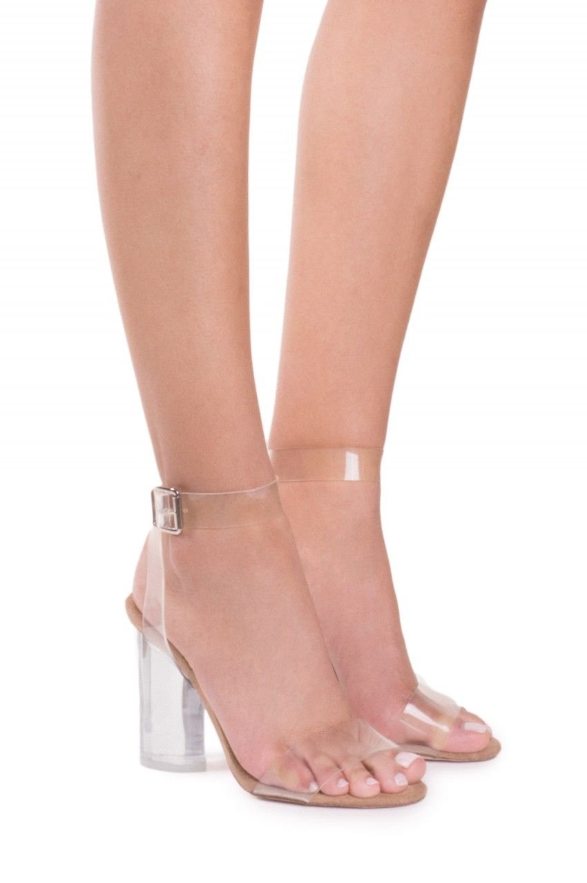 44a65c21341 Jeffrey Campbell Shoes TWELVE Heels in Clear