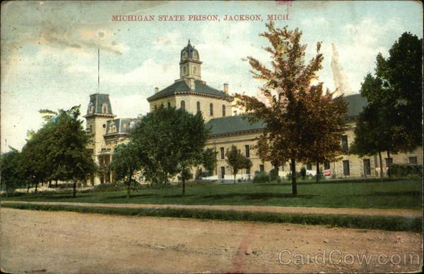 Michigan State Prison Jackson Mi With Images Jackson Michigan