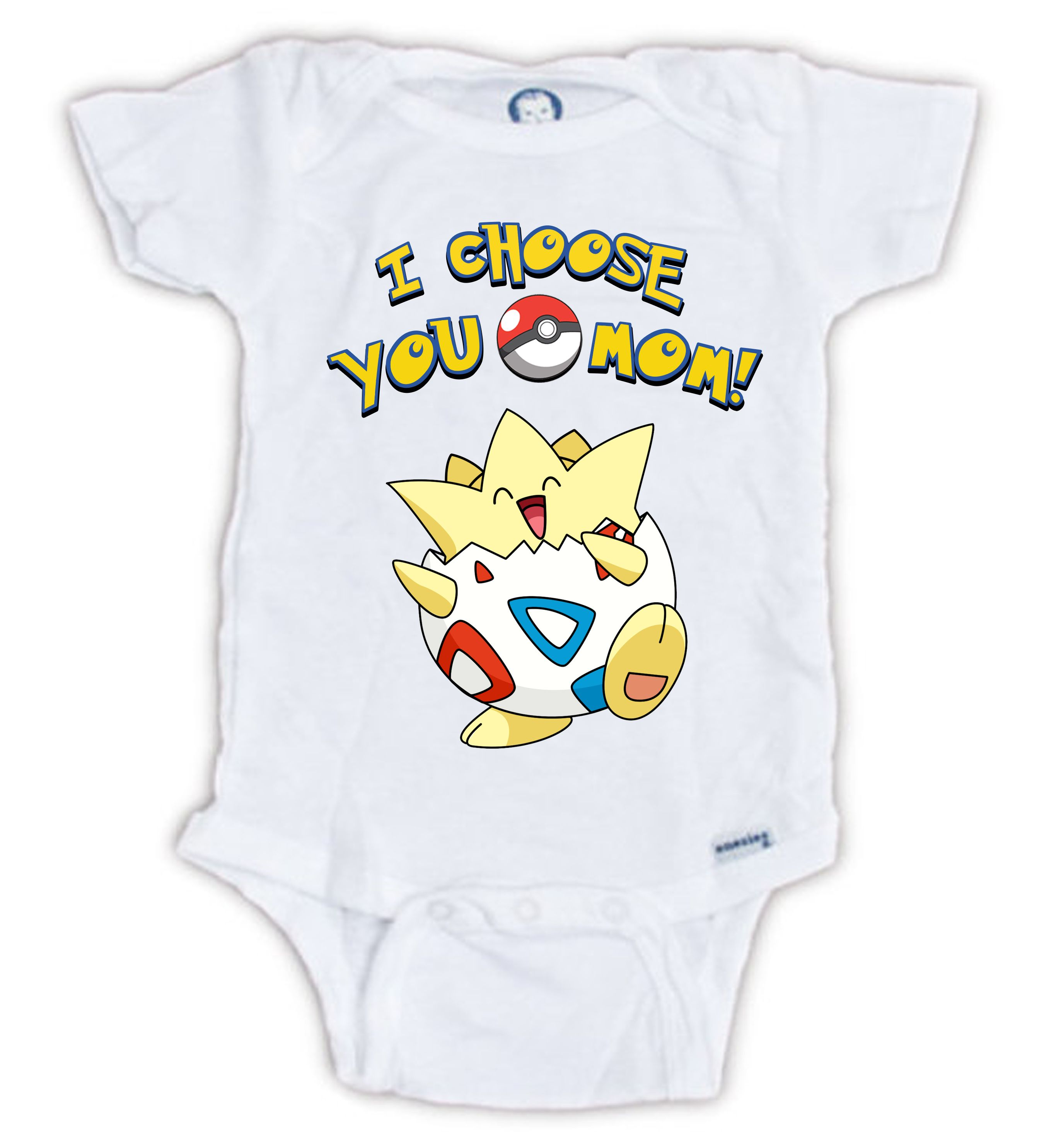 I choose you mom Cute POKEMON onesie Togepi Baby