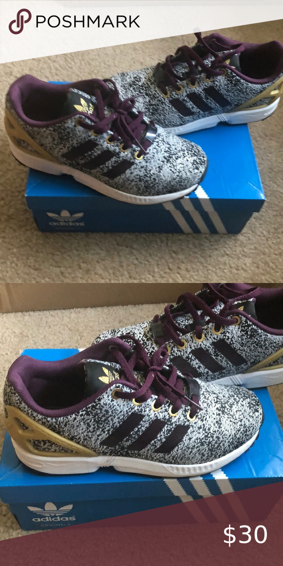 Girls Adidas sneakers size 4 in 2020