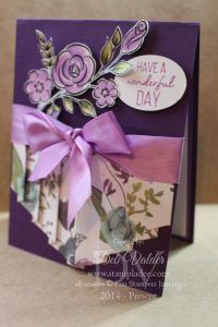 www.stampladee.com Double Curtain Card with Deb Valder #funstampersjourney…