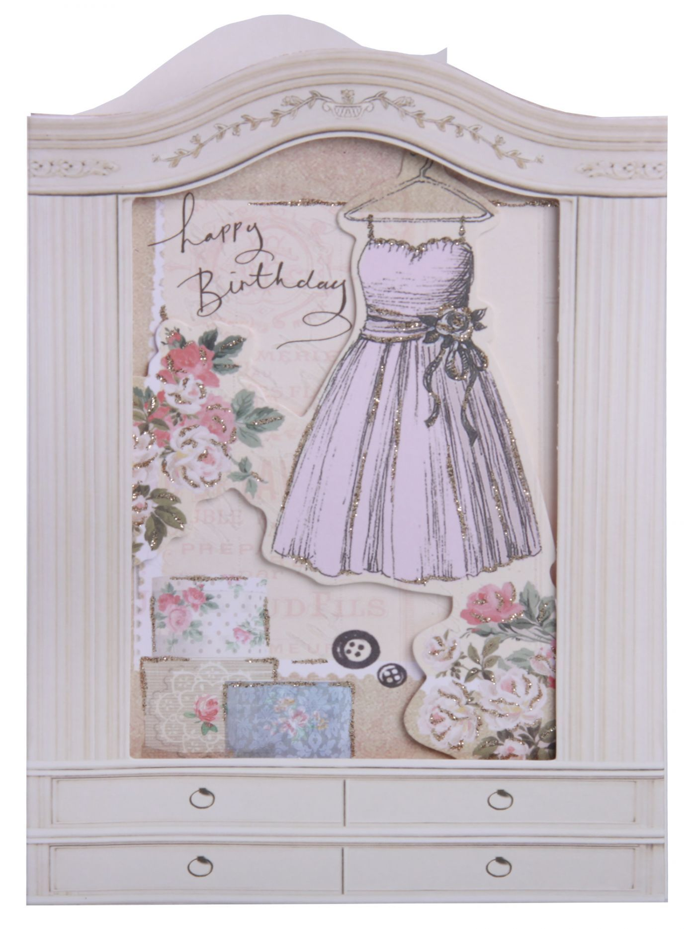 Clintons Collection Window Dress Birthday Card Birthday Cards – Birthday Cards Clintons