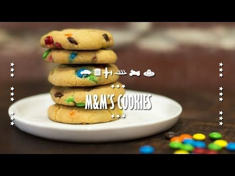 How to make M&M's Cookies   Collaboration with BuonaPappa