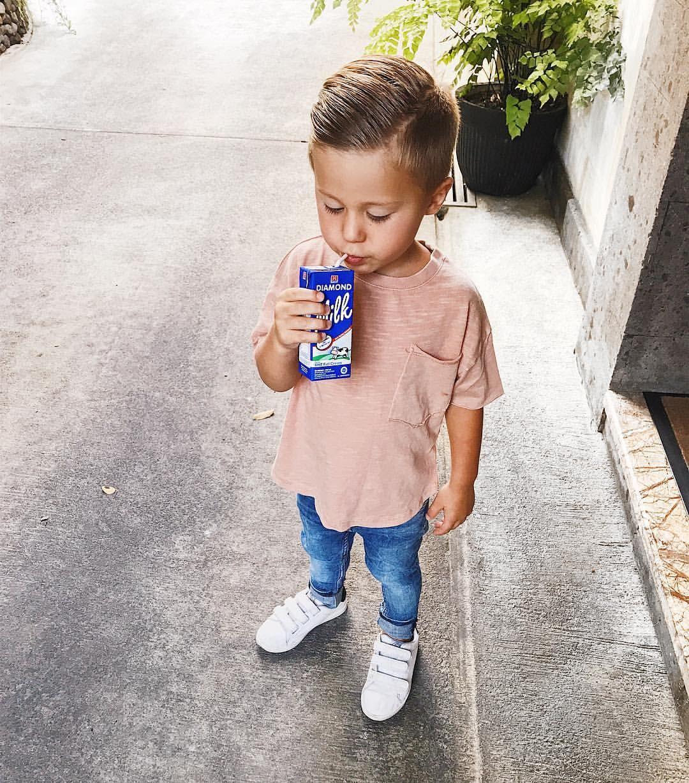 302270372 Got milk? Toddler boy style | Mini Style | Baby boy fashion, Toddler ...