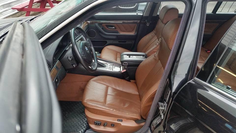 Bmw E38 Tobacco Interior Bmw E38 Bmw Bmw E39