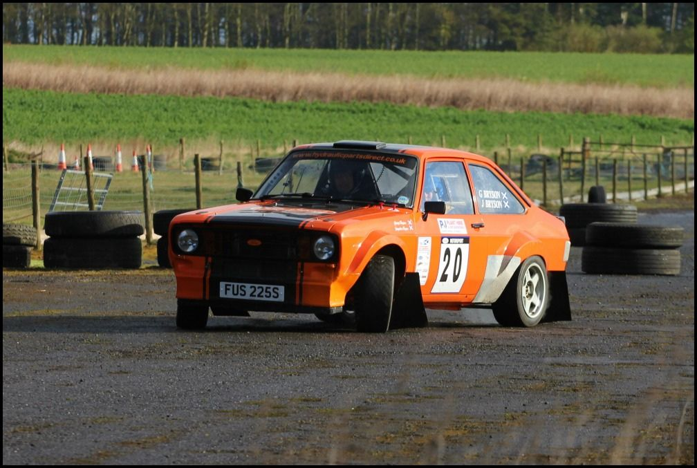 https://flic.kr/p/bHsKGz | #20 George & Jaqueline Bryson | Charterhall Rally Stages
