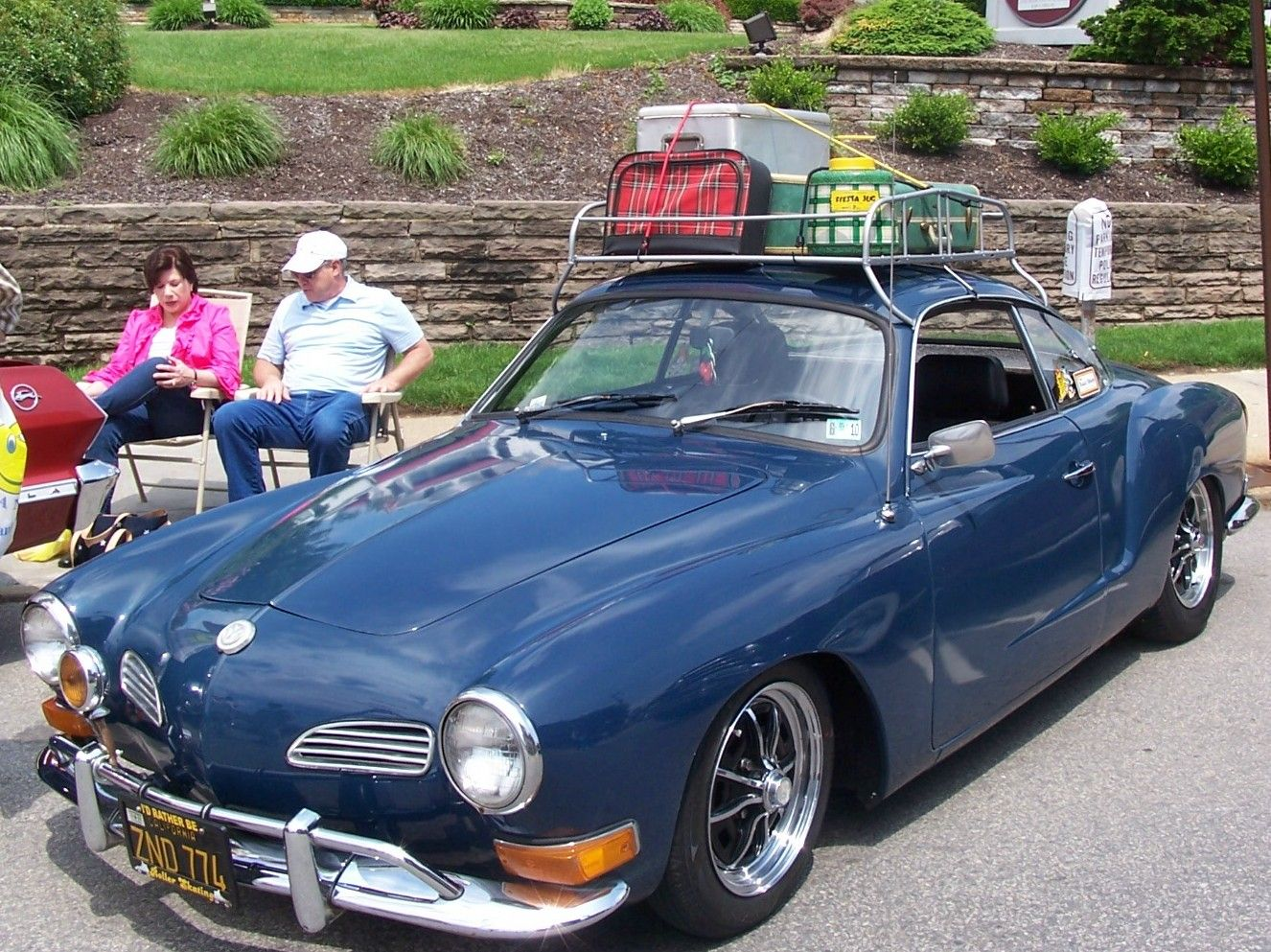 I always wanted a Carman Ghia in high school.  My son totally rebuilt one and took me for a ride in it.