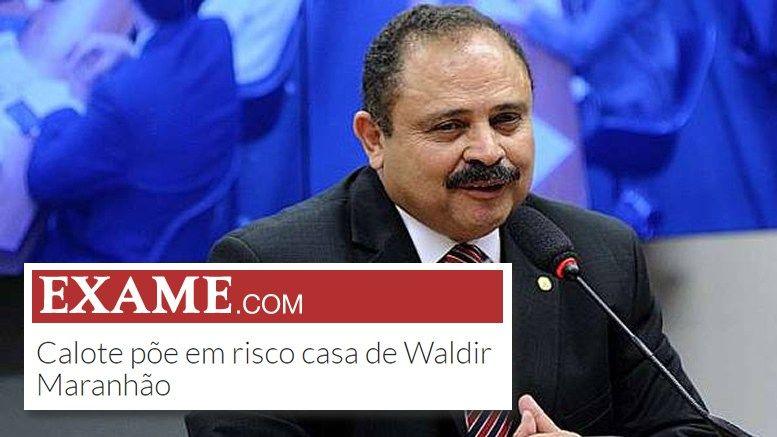 O político que protagonizou um espetáculo circense a mando de Dilma e Lula está atolado em dívidas de campanha O deputado Waldir Maranhão (PP) está prestes aperder sua própria casanumbairro nobr…