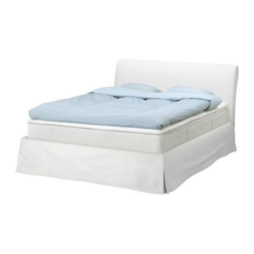Vanvik Bed Frame Blekinge White Queen Ikea This Has Been My Dream For Ssooo Long