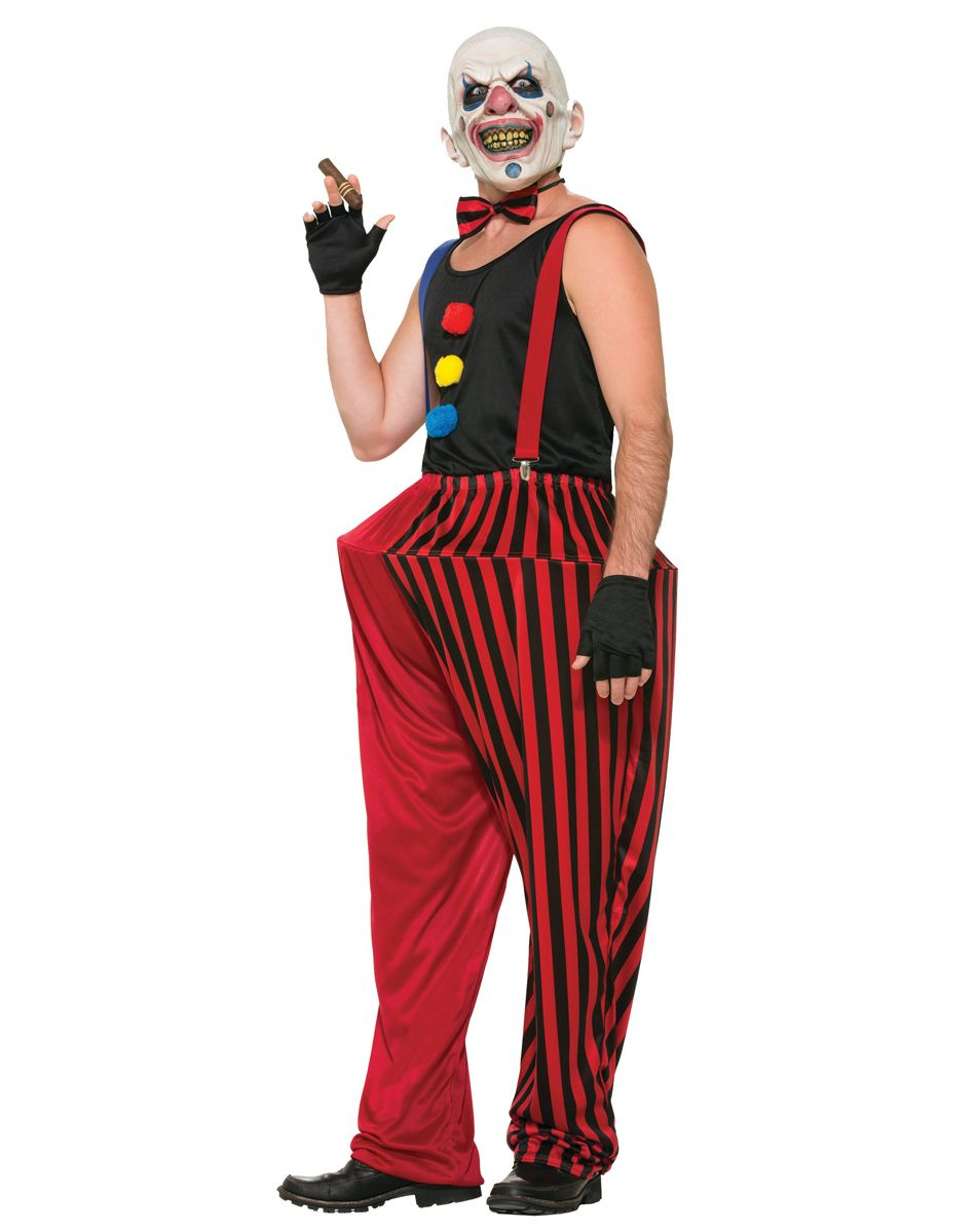 Twisted Clown Adult Mens Costume at Spirit Halloween - Leave some ...