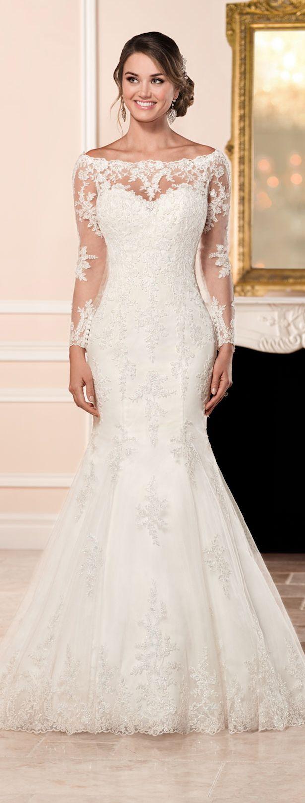 Stella york fall 2016 bridal collection brudkl nningar for Stella york convertible wedding dress