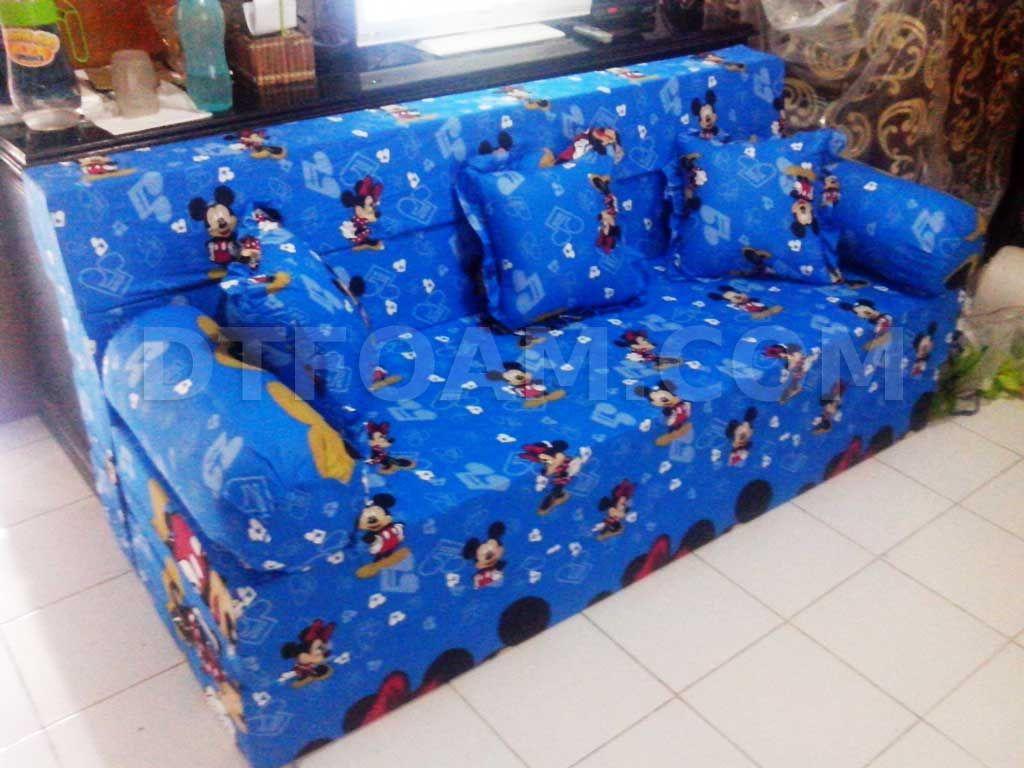 harga cover sofa bed inoac company white rock and motif kasur mickey mouse biru