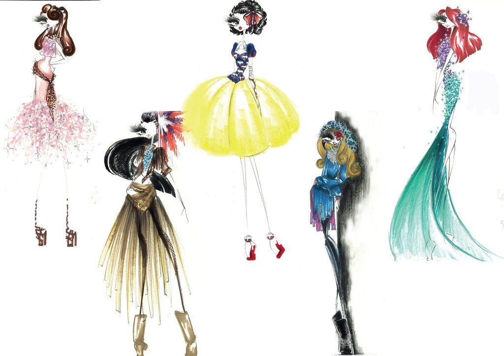 Disney princess fashion girl 13