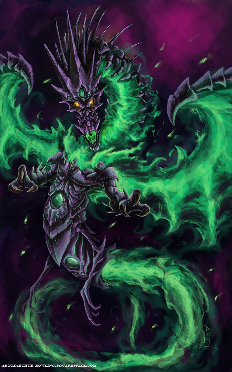 Chaos Dragon painting #dragons #art #digital #painting