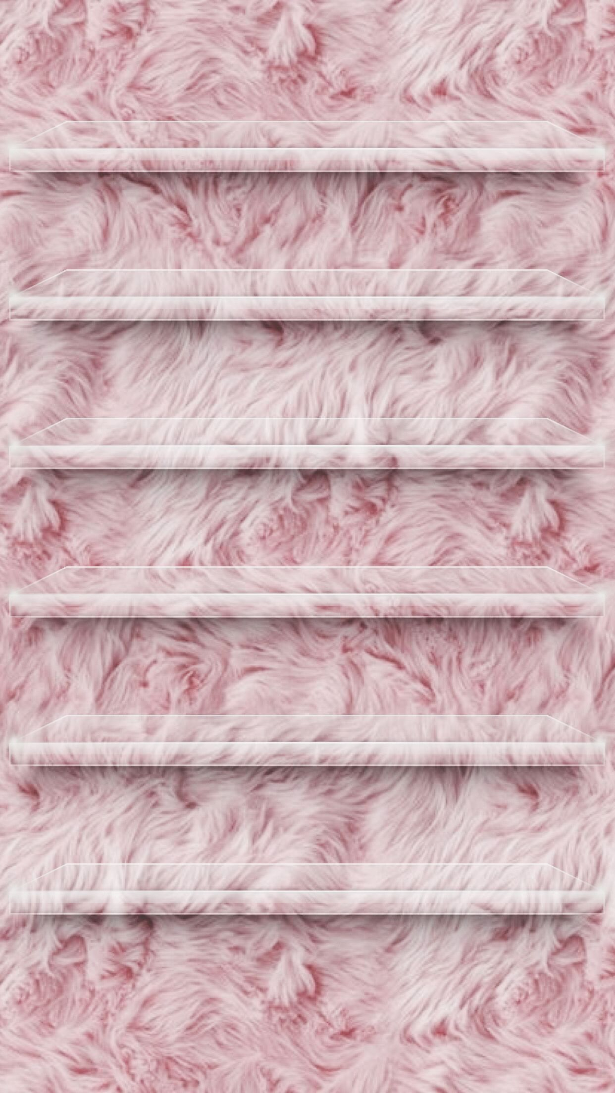 Fuzzy pink home screen phone wallpapers in 2019 - Pink wallpaper for phone ...
