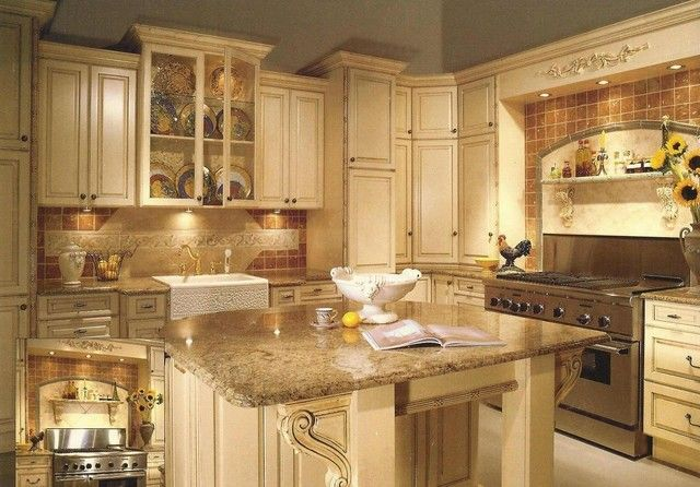 27 Antique White Kitchen Cabinets [Amazing Photos Gallery - 27 Antique White Kitchen Cabinets [Amazing Photos Gallery White