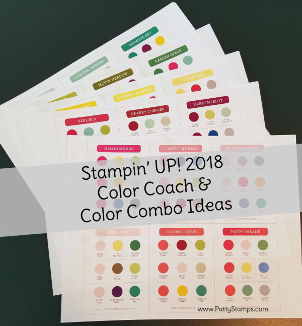 2014 In Colors Stampin Up: Free Download! New 2018 Stampin' UP! Color Combo / Color