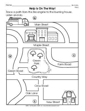 results for map skills kindergarten guest the mailbox map skills social studies. Black Bedroom Furniture Sets. Home Design Ideas