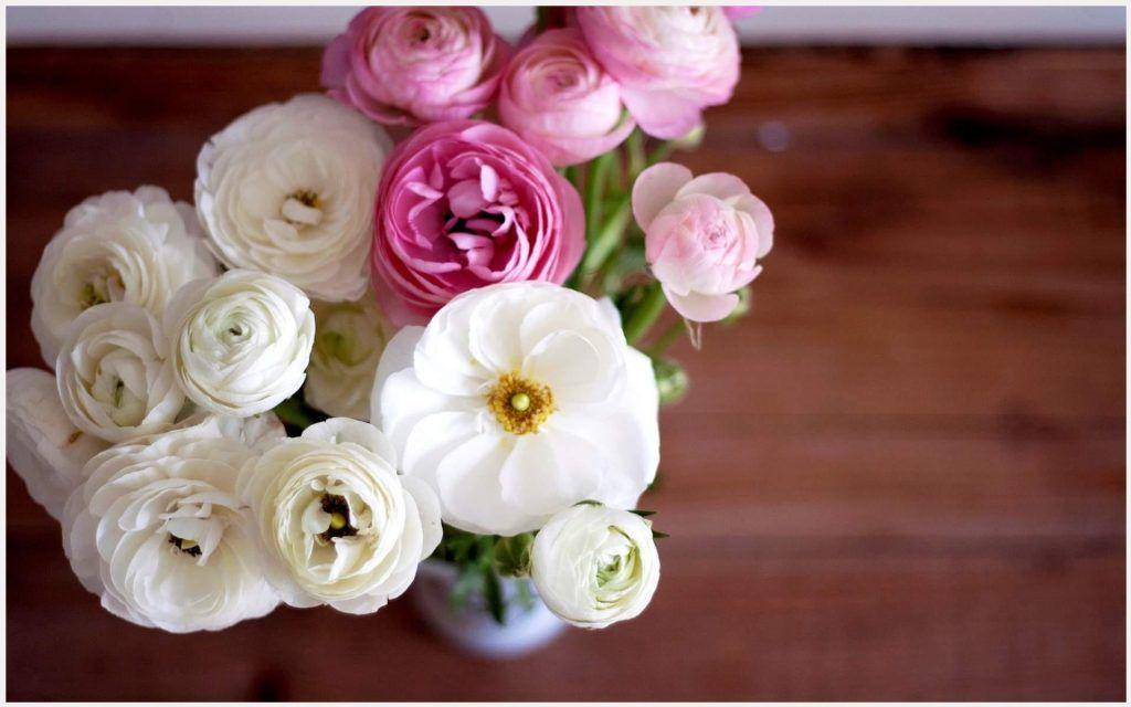 Ranunculus Flower Bouquet Wallpaper | ranunculus flower bouquet ...